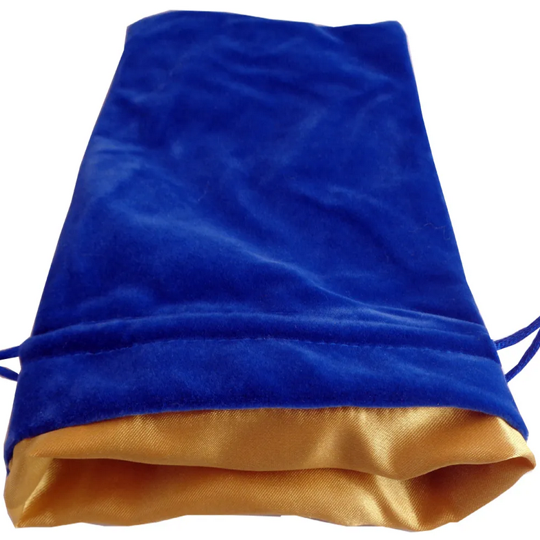 MDG Dice Bag: Blue and Gold
