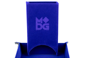 MDG Fold Up Dice Tower: Blue