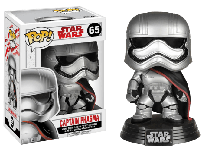 Funko Pop! Star Wars: Captain Phasma - Lulu Games
