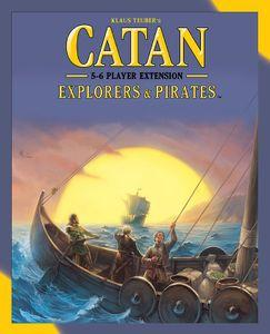 Catan: Explorers & Pirates - 5-6 Player Extension - Lulu Games