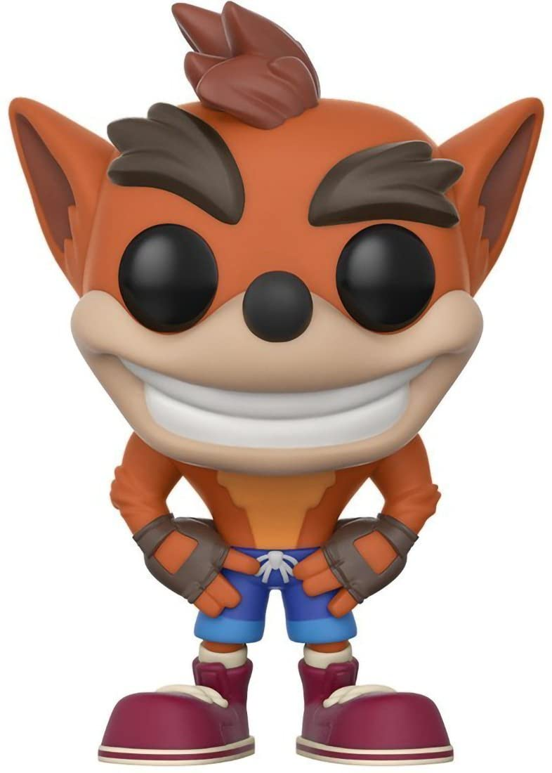 Funko Pop! Crash Bandicoot: Crash Bandicoot - Lulu Games