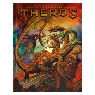 D&D 5th Edition: Mythic Odysseys Of Theros - ALT Cover - Lulu Games
