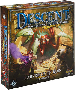 Descent: Journeys in the Dark (Second Edition) - Labyrinth of Ruin Expansion - Lulu Games