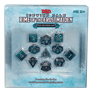 **Pre-Order** D&D 5th Edition: Icewind Dale Rime of the Frostmaiden Dice & Miscellany Set - Lulu Games