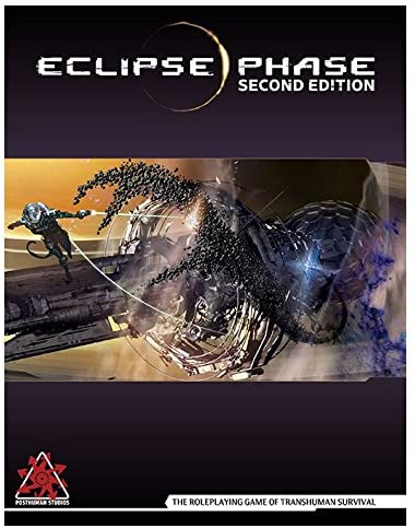 Eclipse Phase RPG Rulebook (Second Edition) - Lulu Games