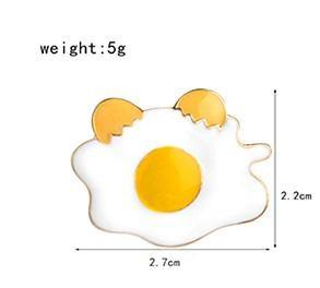 Fried Egg Enamel Pin