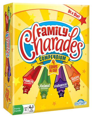 Family Charades Compendium 4-In-One - Lulu Games