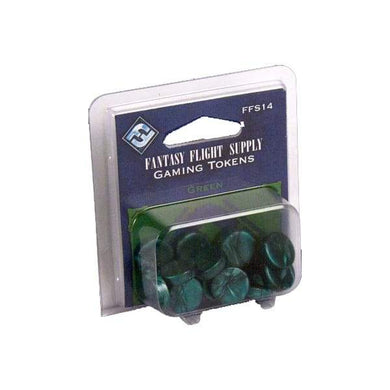 Fantasy Flight Supply: Gaming Tokens - Green - Lulu Games