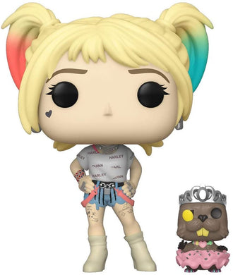 Funko Pop! Birds of Prey: Harley Quinn and Beaver - Lulu Games