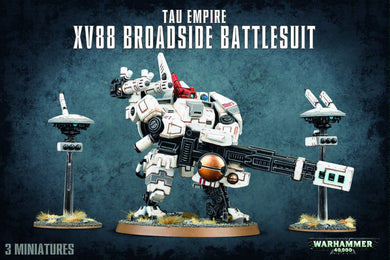 Warhammer 40,000: Tau Empire - XV88 Broadside Battlesuit - Lulu Games