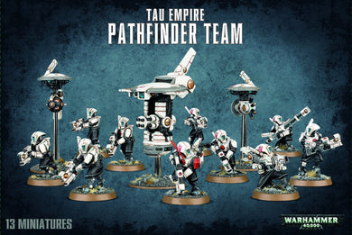 Warhammer 40,000: Tau Empire - Pathfinder Team - Lulu Games