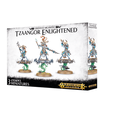 Warhammer Age of Sigmar: Disciples of Tzeentch - Tzaangor Enlightened - Lulu Games