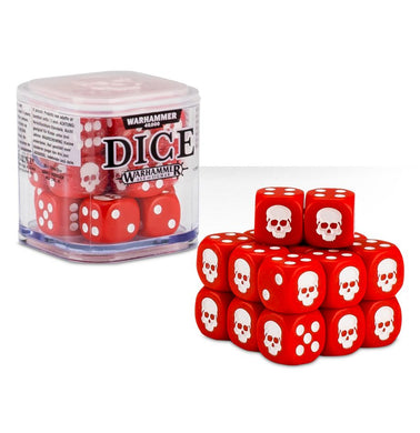Citadel Dice Cube - Red - Lulu Games
