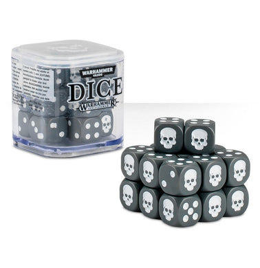 Citadel Dice Cube - Grey - Lulu Games