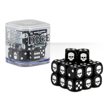 Citadel Dice Cube - Black - Lulu Games