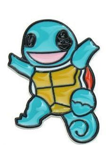 Squirtle Jumping Enamel Pin