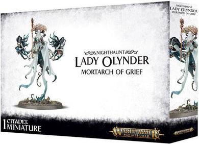 Warhammer Age of Sigmar: Nighthaunt - Lady Olynder, Mortarch of Grief - Lulu Games