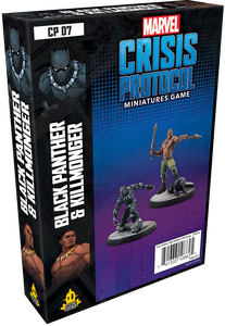 Marvel: Crisis Protocol - Black Panther and Killmonger