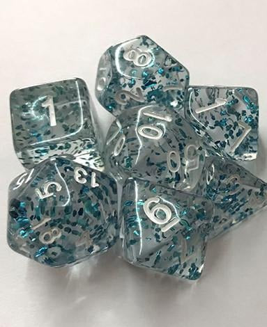 Dice By Lulu - Mythical Fleck Dice: Merfolk Flecks - Lulu Games
