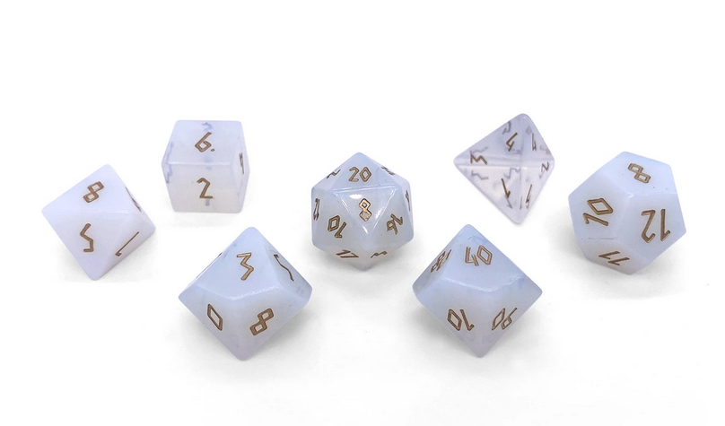 Norse Foundry Gemstone Dice: Opalite