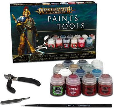 Warhammer Age of Sigmar: Paint and Tools - Lulu Games