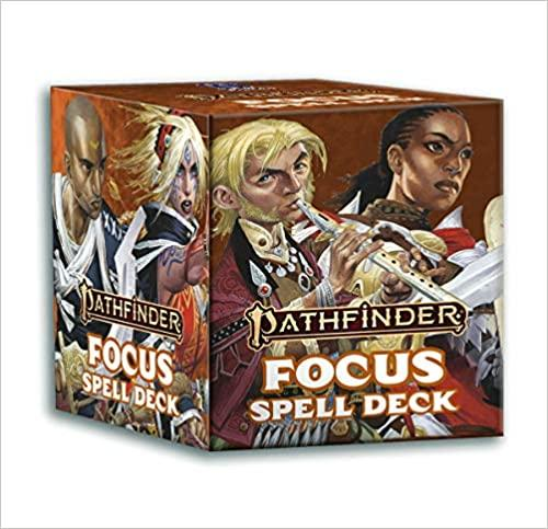 Pathfinder: Focus Spell Cards - Lulu Games