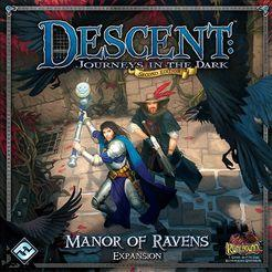 Descent: Journeys in the Dark (Second Edition) - Manor of Ravens Expansion - Lulu Games
