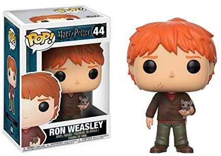 Funko Pop! Harry Potter: Ron Weasley with Scabbers - Lulu Games