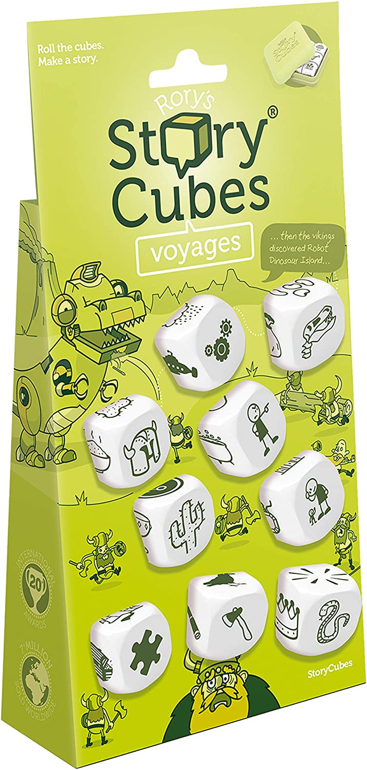 Rory's Story Cubes: Voyages - Lulu Games