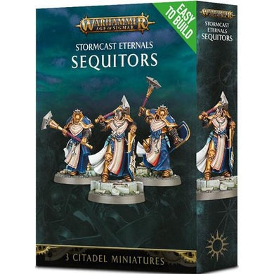 Warhammer Age of Sigmar: Stormcast Eternals - Sequitors - Lulu Games