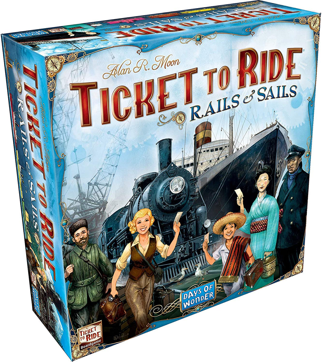 Ticket To Ride: Rails & Sails - Lulu Games
