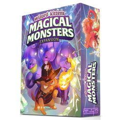 Wizard Kittens: Magical Monsters Expansion - Lulu Games