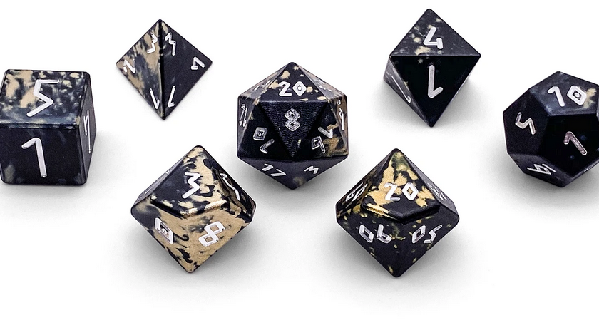 Norse Foundry Wondrous Dice Aircraft Grade Aluminum Great Void Lulu Games Whether you're a dice collector or a casual gamer, this is the place for dice! lulu games