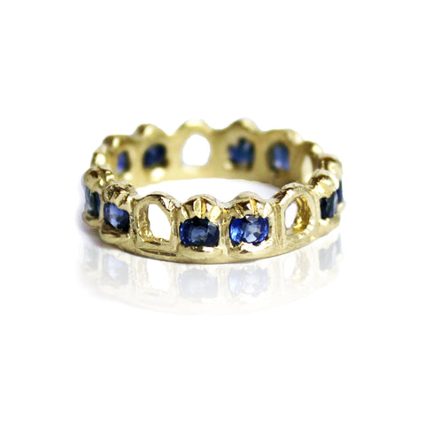 Sapphire Archway Ring