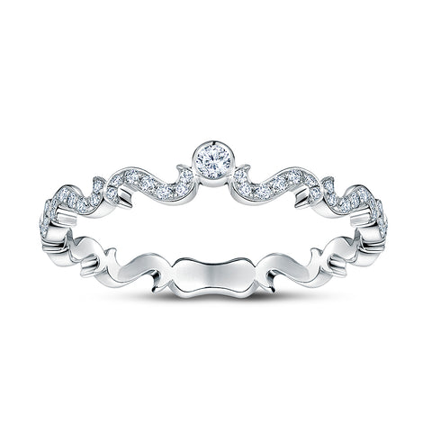 Rafael Platinum and Diamond Ring