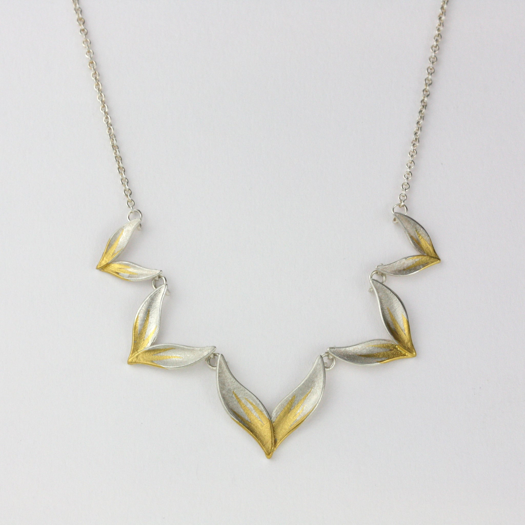 Half Chevron Necklace