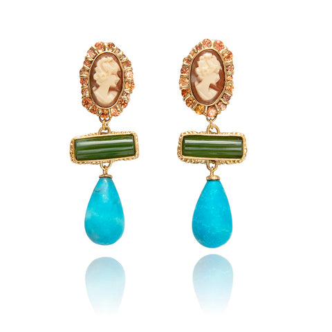 Coralie Drop Earrings