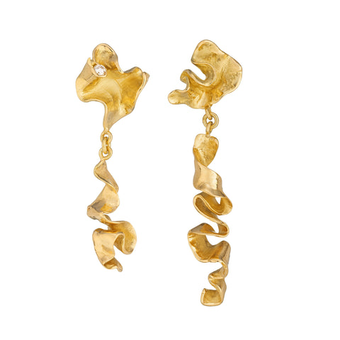 Kelp Scribble Earrings