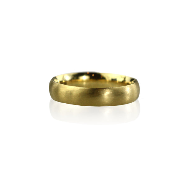 18ct Yellow Gold Comfort Fit Band
