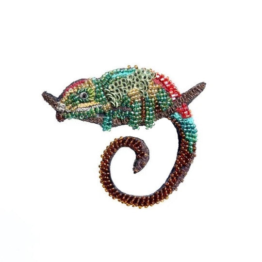 Chameleon Brooch Pin