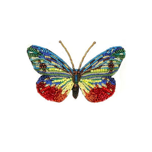 Cepora Jewel Butterfly Brooch Pin