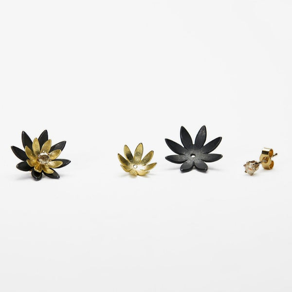 Midi Stacking Waterlily Studs