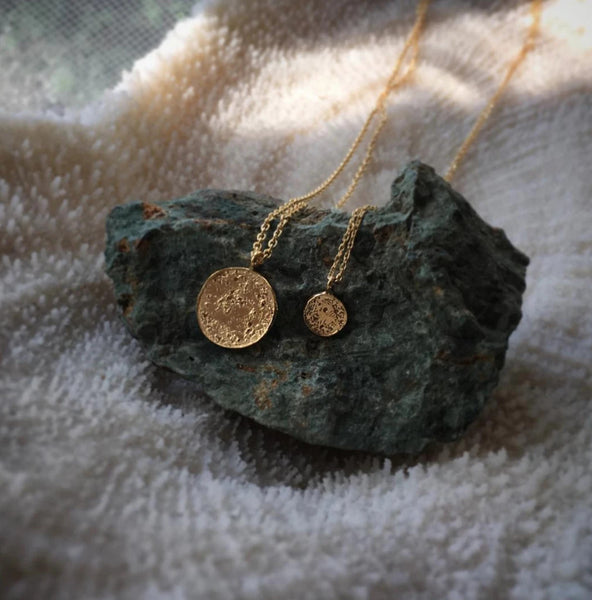 Moon Disc Pendant