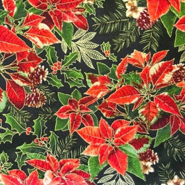 11501 Poinsettia (metallic)
