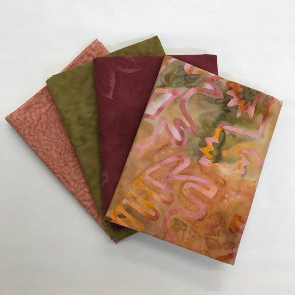 Fat Quarter Batik Set-FQ38-Last one!