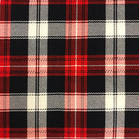 Tartan - Black/Red/Off White