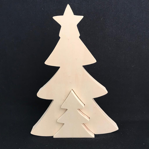 2 in 1 Christmas Tree - Plywood