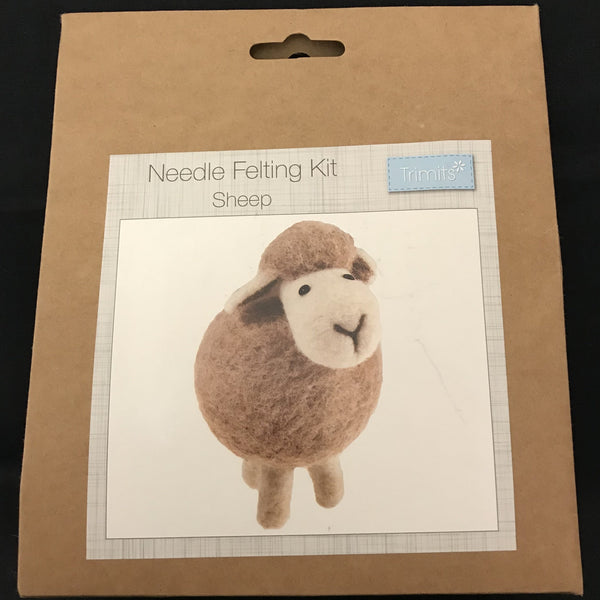 Needle Felting Kit - Sheep TCK003