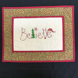 Believe - Christmas wallhanging kit