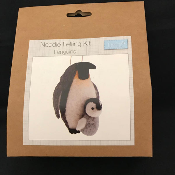 Needle Felting Kit - Penguins TCK011